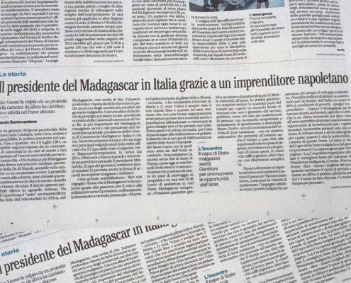 La Storia: il Presidente del Madagascar in Italia